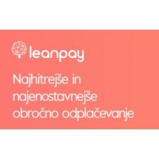 Ugodnosti z obročnim odplačevanjem Leanpay