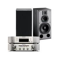 Indiana Line DJ 308 + Marantz PM5005 + Marantz CD5005
