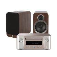 Marantz M-CR412 Melody + Q Acoustics 3020i