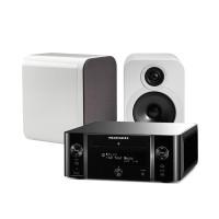 Marantz M-CR611 Melody Media + Q Acoustics 3020