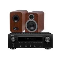 Q Acoustics 3030i + Denon DRA-800H