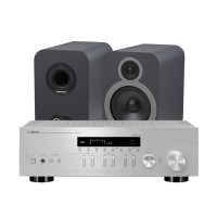 Q Acoustics 3030i + Yamaha R-N303D