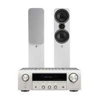 Q Acoustics 3050i + Denon DRA-800H
