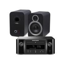 Marantz M-CR612 Melody X + Q Acoustics 3030i