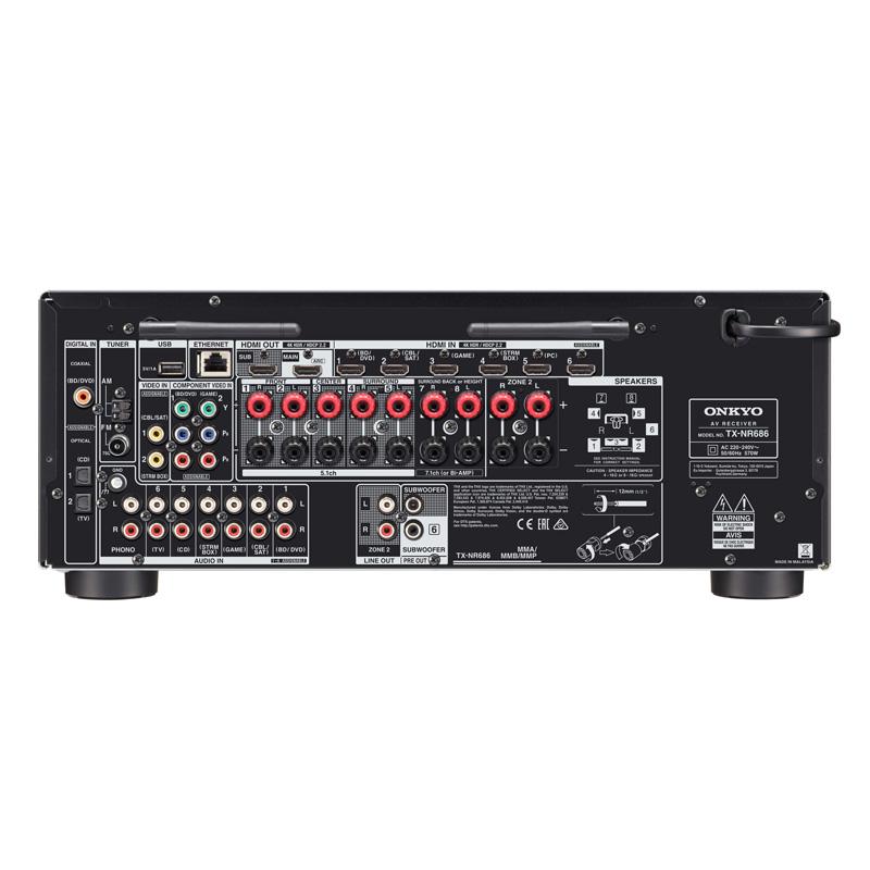 Onkyo TX-NR686 | PlayRoom.si - Največja ponudba avdio ...