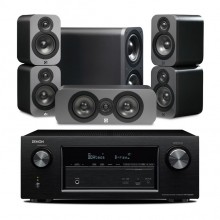Q Acoustics 5.1 Cinema Pack + Denon AVR-X2200W