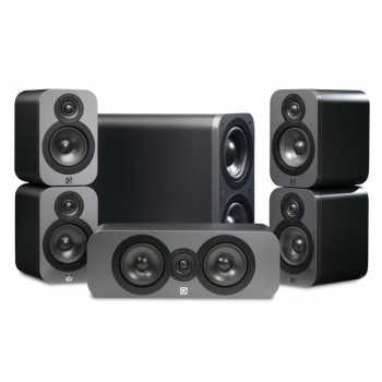 Q Acoustics 5.1 Cinema Pack + Denon AVR-X1300W