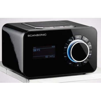 SCANSONIC R4 Internet/FM Radio